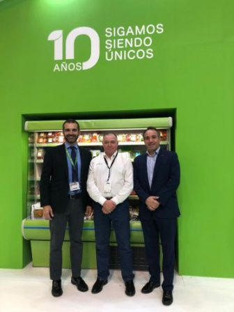 Almeria alcalde en Fruit Attraction 2 Unica