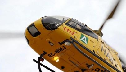 Helicóptero del Plan Infoca.