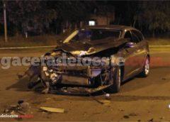Dos motociclistas graves en una violenta colisión en Ruta 30 y Suárez