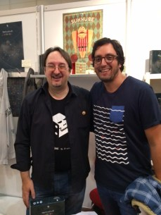 Con Manlio Zaninotti, autor de The Producer