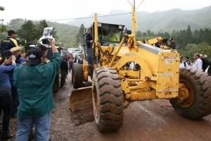 Gobierno pone en marcha rehabilitación de 31.2 km en carreteras y eliminación de 174 aulas ranchos