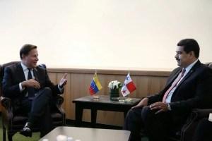 Presidente Varela Rodríguez se reúne con mandatario de Venezuela