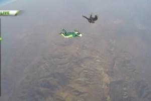VIDEO! Luke Aikins salta sin paracaídas desde 25 mil metros