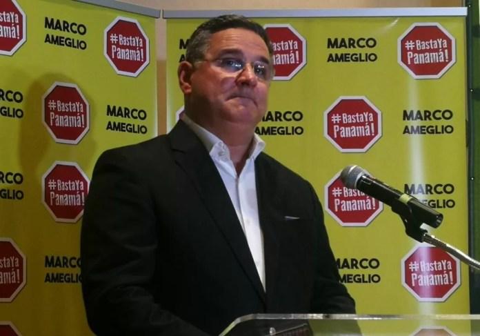 Fiscal Electoral impugna candidatura presidencial de Marco Ameglio