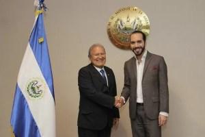 El presidente de la república, Salvador Sánchez Cerén, y el alcalde de San Salvador, Nayib Bukele, tuvieron una reunión esta tarde para hablar temas de cooperación entre Gobierno Central y la comuna capitalina.