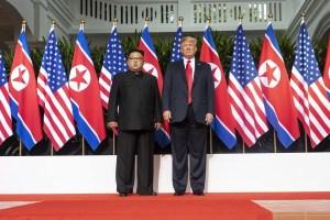 Trump, primer presidente de EEUU en pisar Corea del Norte