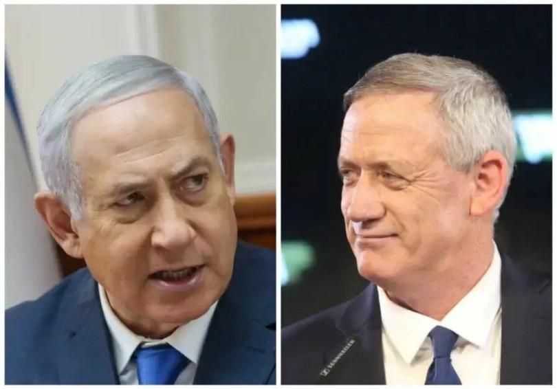 Netanyahu y Gantz aceptan negociar un gobierno de coalición en Israel
