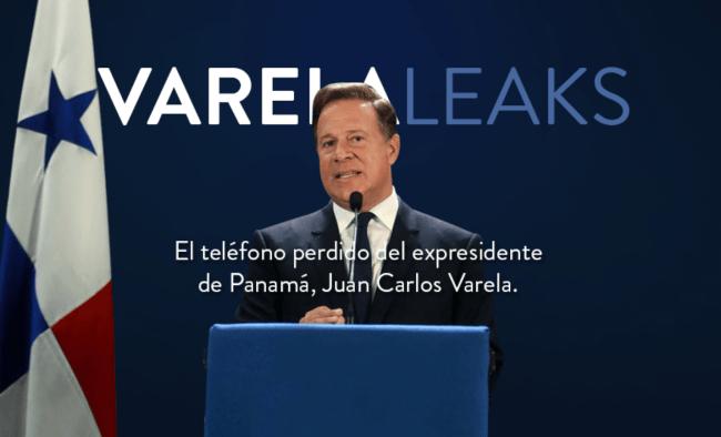 Publican el portal VarelaLeaks.com, las supuestas filtraciones de Whatsapp del expresidente Varela