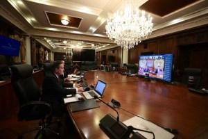 Presidente Cortizo invita a presidentes de los partidos políticos a reunión virtual