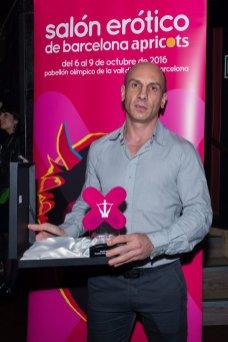en los Premios Ninfa 2016