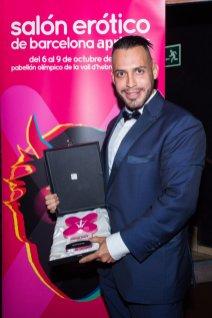 Viktor Room en los Premios Ninfa 2016