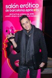 Julio Rocco en los Premios Ninfa 2016