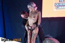 Mago Pepe Show y Jeny Rogers en Salón Erótico de Barcelona 2018