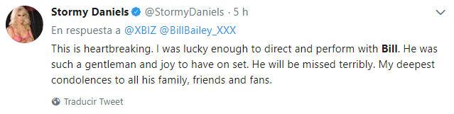 Stormy Daniels tweet