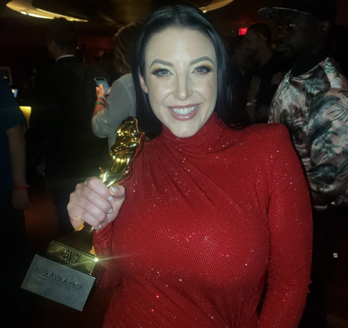 Angela White AVN Awards 2019