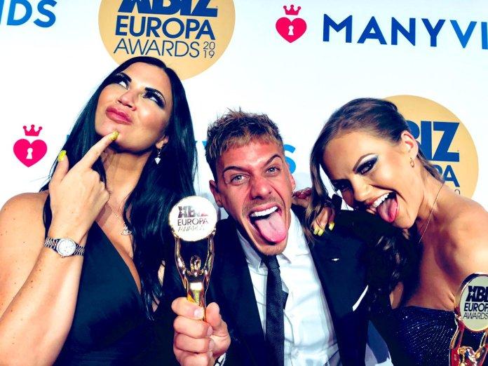 Chris Diamond Male Performer Year XBIZ Europa Awards 2019
