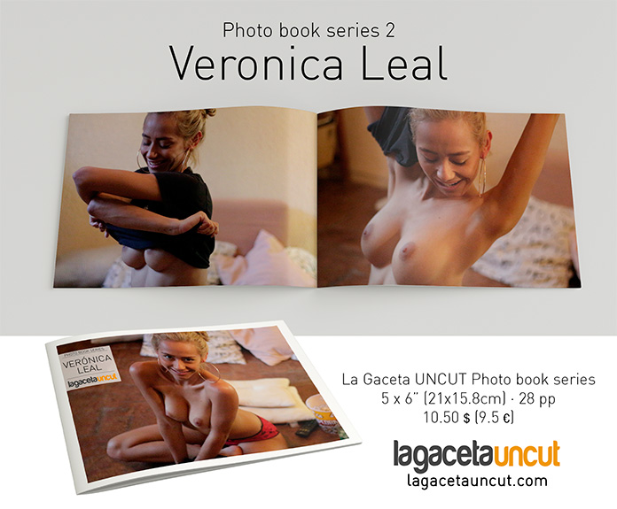 Promoción Veronica Leal La Gaceta Uncut Photo book series 2