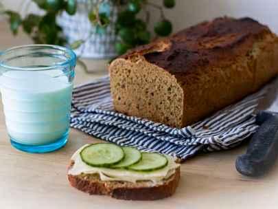 Baka glutenfri limpa utan jäst - superenkelt recept!