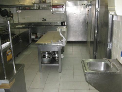Kitchen of La Gamba de Palamós
