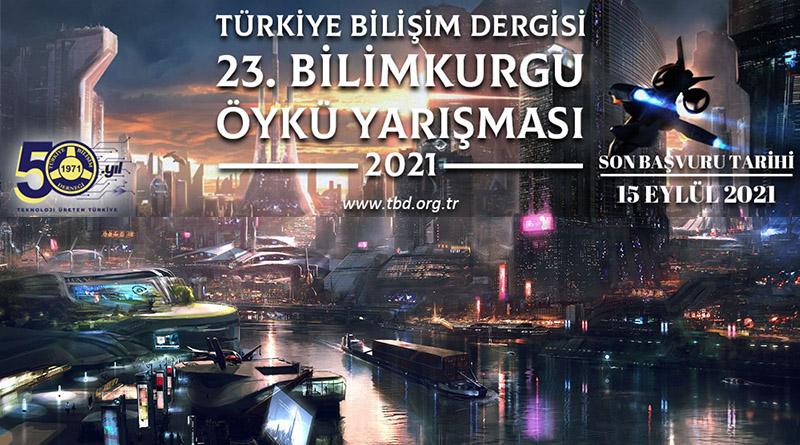 Türkiye Bilişim Derneği 2021 Bilimkurgu Öykü Yarışması başladı.