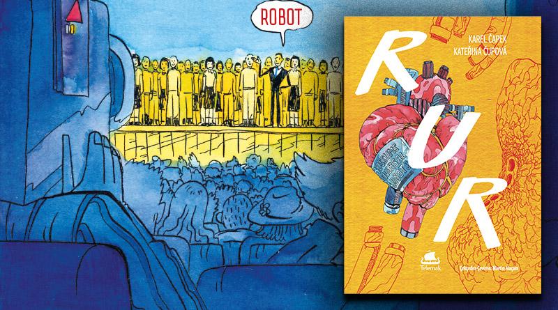 """Karel Čapek tarafından yazılan Rossum'un Üniversal Robotları birçok yönden ilginç. Fakat en önemli kısmı dünyaya """"Robot"""" kelimesini kazandırması diyebiliriz."""