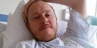 David Baldwin sofre de 'perda de líquido cefalorraquidiano' há quatro anos (Foto: BBC)
