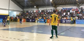 Itaporanga x Lagarto pela Copa TV Sergipe de Futsal (Foto: Guilherme Fraga / TV Sergipe)