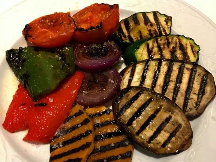 Parrillada de verduras Restaurante El Aliño