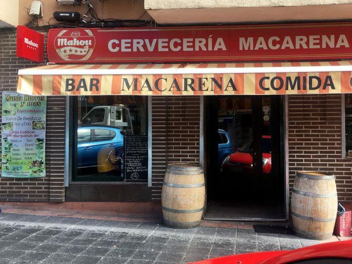 Bar-Macarena-Restaurante-Carnes-Huevos-Exoticos-Vallecas-Fachada