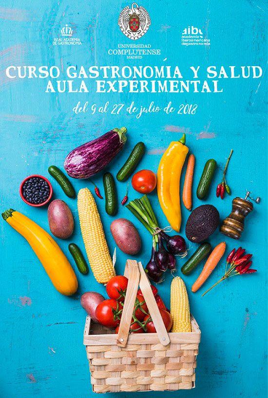Cartel-Curso-de-Verano-UCM-ECV-Gastronomia-y-Salud-Aula-Experimental