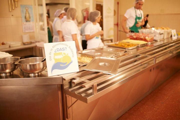 Comedor Social María Inmaculada en el Día de la Alimentación Solidaria