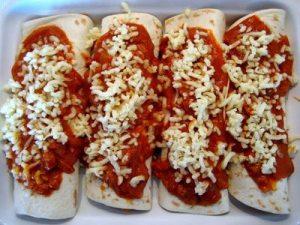 enchilada, gastronomia mexicana