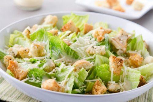 cocina, perder peso, dieta sana, dieta adelgazar, ensaladas sanas, alimentacion, ensalada cesar