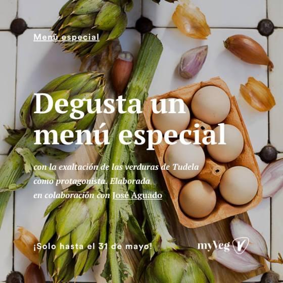 myveg, verduras de tudela, jose aguado, restaurante topero, iñigo orla, verduras en madrid, menu degustacion, jornadas de exaltacion de la verdura, tudela