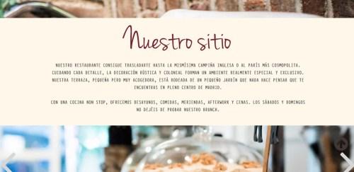 copywriting, redaccion de textos, restaurantes, como escribir bien, como hacer un blog, donde monica, restaurantes madrid