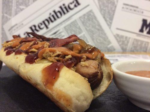 street food madrid, hot dog madrid, perritos calientes, restaurantes en madrid, comer en madrid, comer barrio chamberi