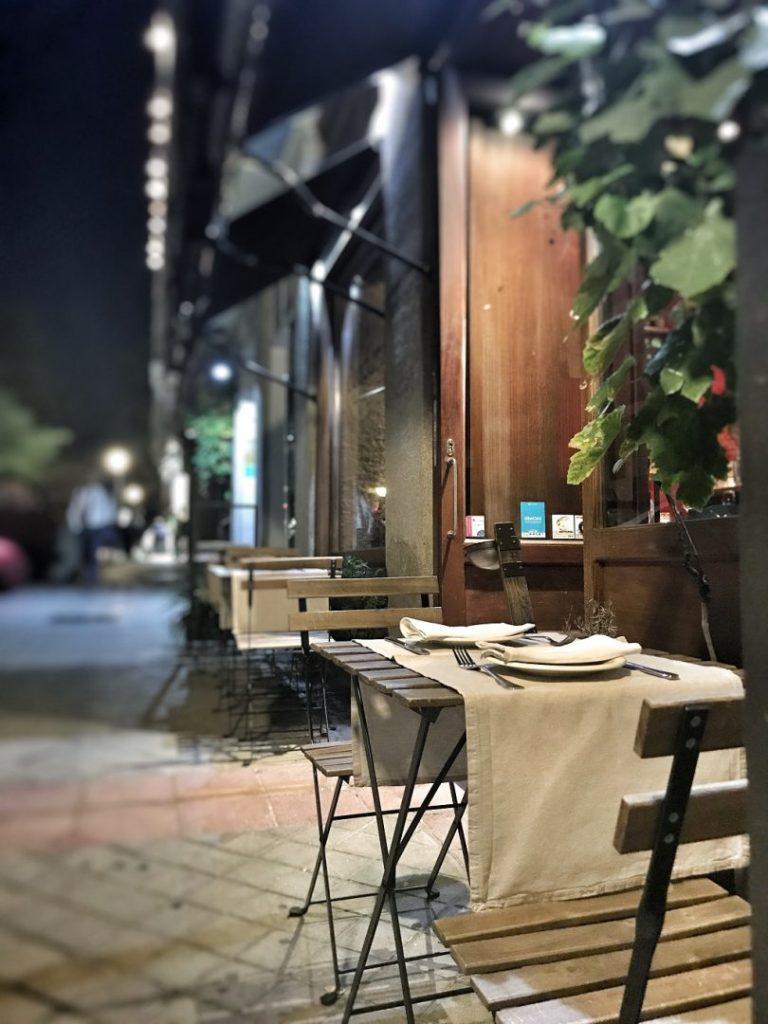 La terraza de Condumios. Restaurantes en Madrid
