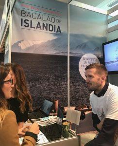 kristinn de bacalao de islandia, la gastrorredactora