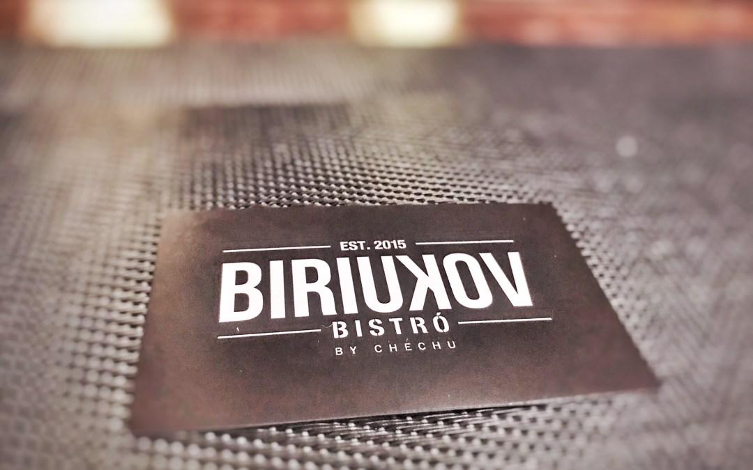 Deporte y buena comida: Biriukov Bistró
