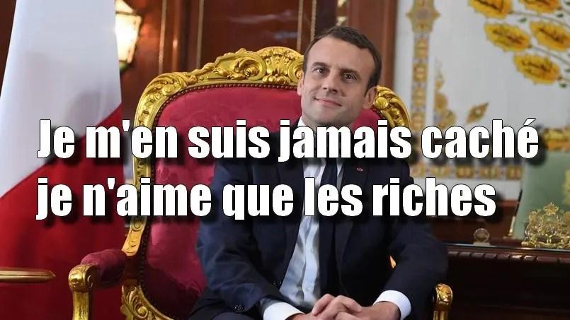 """Résultat de recherche d'images pour """"macron le président des riches"""""""