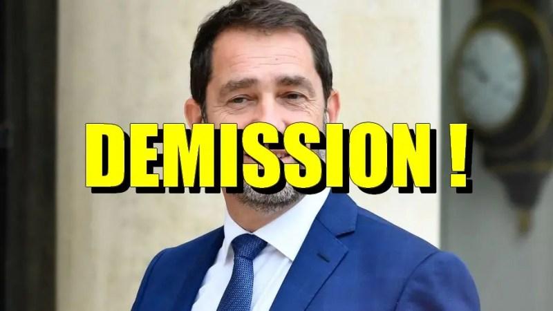 """Résultat de recherche d'images pour """"castaner démission"""""""