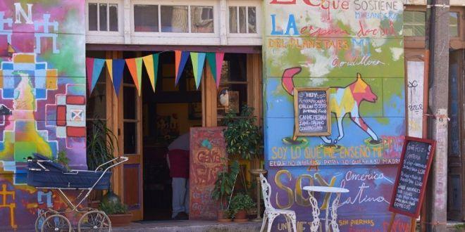 Street Art en Valparaiso