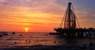 Atardecer en Puerto Vallarta