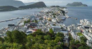 Vista de Alesund