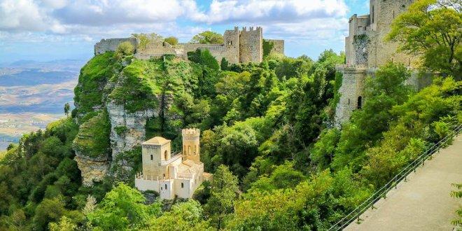 Castelo di Venere en Erice, lo mejor de Sicilia