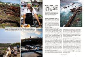 """Reportaje sobre La Palma y su gastronomía en el magazine semanal """"Buena Vida"""" del periódico EL PAÍS, del pasado sábado 7 de agosto de 2020."""