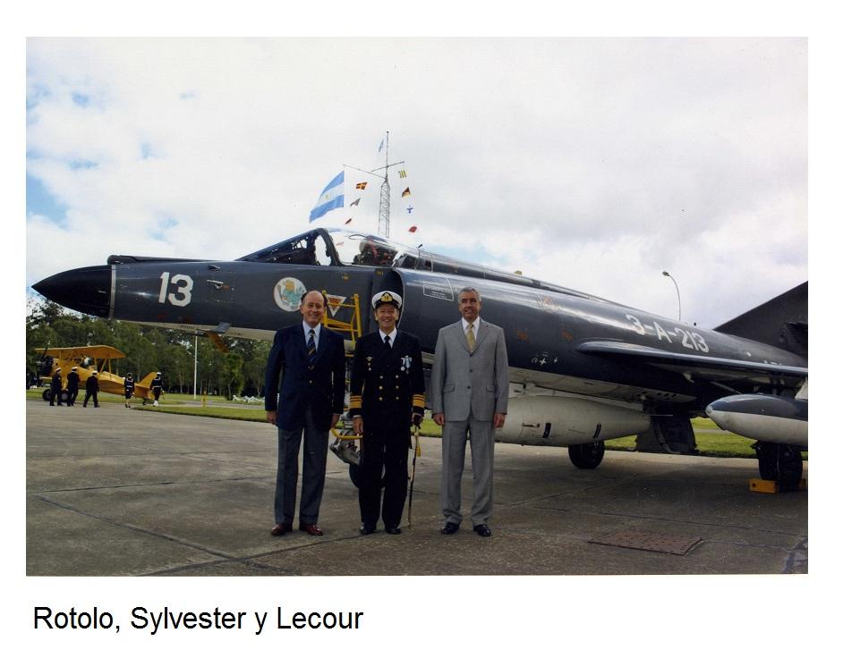 Rotolo, Sylvester y Lecour