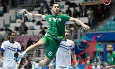 handball algerie cap vert can2020 1