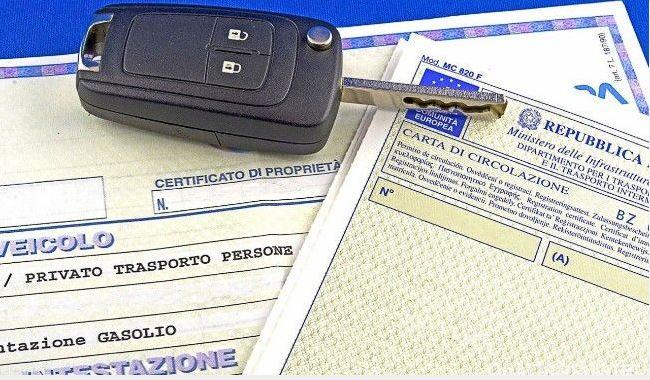 Documenti di circolazione auto