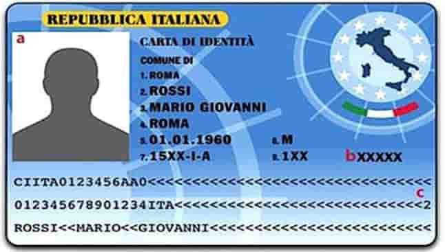 carta identita elettronica cie